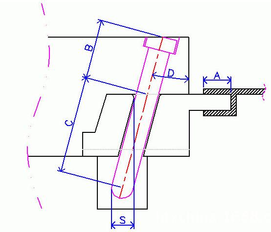 模具斜导柱长度计算方法