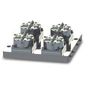 D100 4頭CNC氣動卡盤