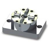 D100 CNC气动卡盘