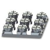 D100 9頭CNC氣動卡盤
