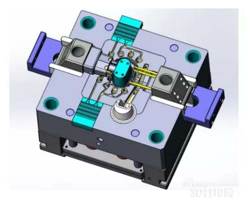 3D打印随形冷却将大幅提高注塑模具生产效率