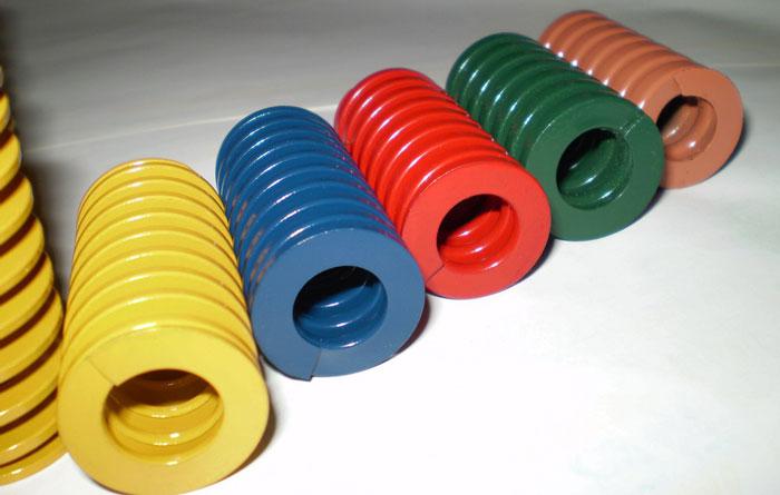 不同颜色的日标25*25-30*300弹簧