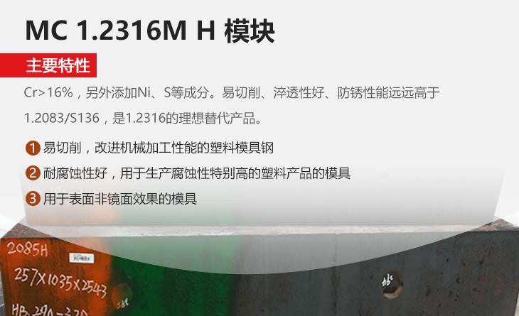 MC 1.2316M H