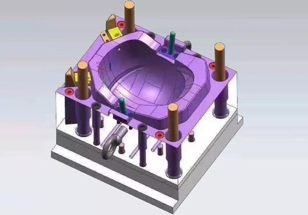 頭盔模模型圖
